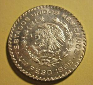 Mexico 1 Silver Peso 1966 KM-459