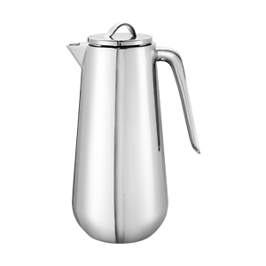 Georg Jensen HELIX Mirror Polished Stainless Steel Thermo Jug Coffee Pot New