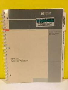 HP-08753-90308-8753D-Network-Analyzer-System-Verification-and-Test-Guide
