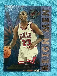 1995-96-Stadium-Club-Reign-Men-RM2-Michael-Jordan