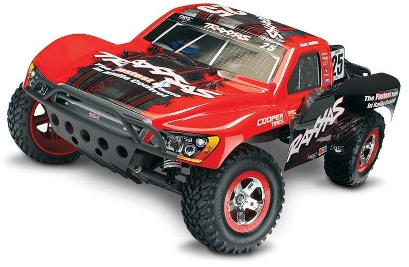 TRAXXAS SLASH RTR TQ 2.4ghz short course + BATTERIA ID, ID CARICABATTERIE  58034-1