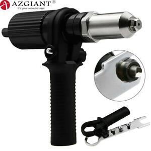 Electric Rivet Gun Riveting Adapter Insert for Cordless Drill Riveter Gun