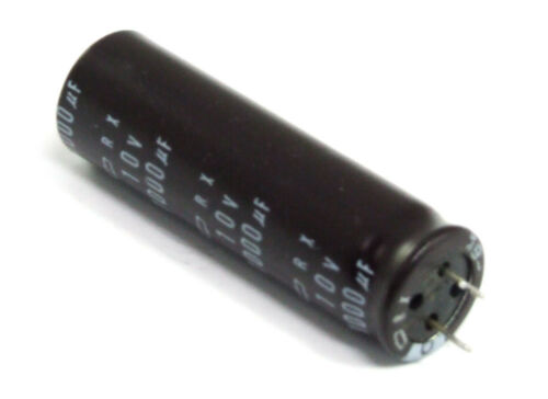 Chemi-Con RX 1000uf 1000µf 1mf 10v LAECs Capacitor Electrolytic Capacitor