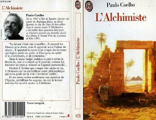 L Alchimiste French Edition By Paulo Coelho For Sale Online Ebay