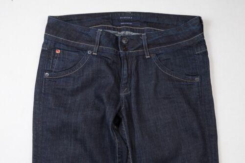 Jeans à cm asymétriques rabat poches 35 Wash 29 découpes x à femmes Dark avec Hudson pour rarqSwp