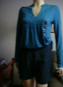ESPRIT-Navy-blue-shorts