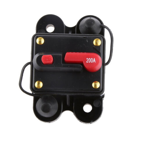 200 AMP Manual Reset Circuit Breaker Switch 12v Car Boat Power Protection
