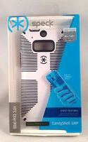 Speck Candyshell Grip Case For Htc One M8 - White / Black