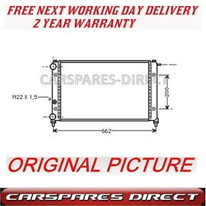 1.6 MANUAL RADIATOR FOR A VAUXHALL CORSA D 1.3 1.7 06/>ON *BRAND NEW* 2YR WRNTY