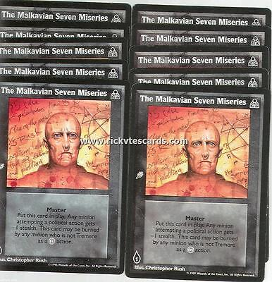 Malkavian Derangement Alternate Personality x10 DS VTES Jyhad