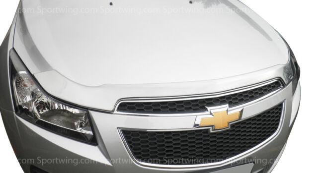 Para: Chevrolet Cruze 622049 cromo campana Escudo Bug Guardia Trim 2011-2013