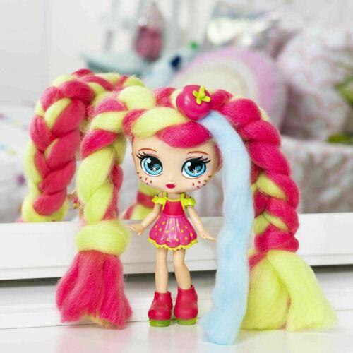 """Candylocks paille Mary 7/"""" Deluxe sucre Style Poupée parfumée Cotton Candy cheveux"""