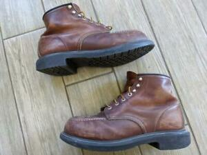 USA made RED WING vintage boots 10.5