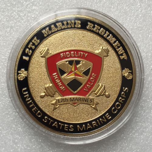 USMC 12th Marine Regiment GP Challenge Coin