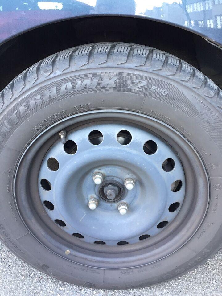 """16"""", fælge med dæk"""