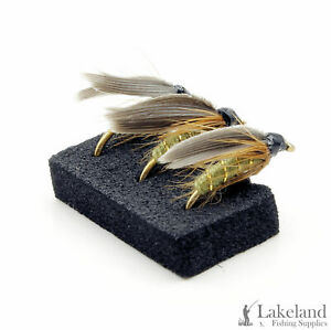 3-6-or-12x-Greenwells-Glory-Wet-Trout-Flies-for-Fly-Fishing
