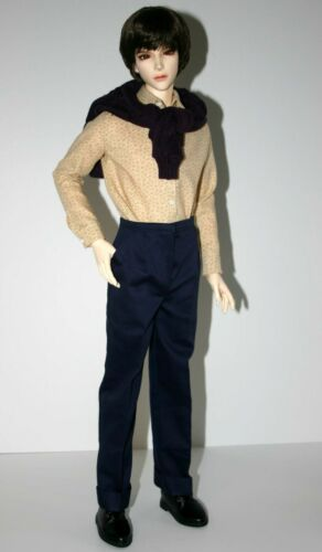 Dress It Up Doll Clothes Sewing Pattern for Iplehouse YID Male BJD