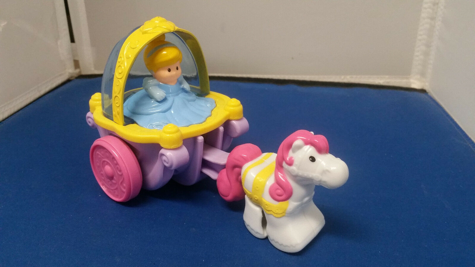 Little People Klip Klop Cinderella Princess Horse & Carriage