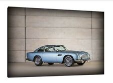 Aston Martin DB5 - 30x20 Inch Canvas - Framed Picture Poster Print Wall Art