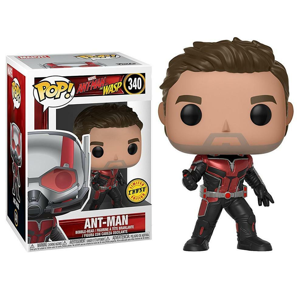 Funko POP - Heroes - Marvel - Ant-Man And The Wasp - 340 Ant Man CHASE