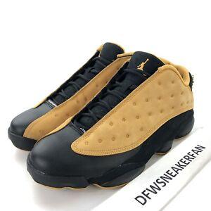 new product 3769d 8e5d6 Nike Air Jordan 13 Retro Low Men's 11.5 Chutney Black Wheat ...