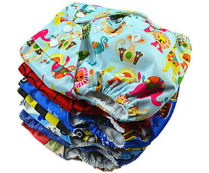 Reusable-Washable-Baby-Cloth-Nappy-Nappies-Diaper-Waterproof-Surface-Free-Insert