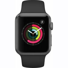 Apple Smart Watch Series 1 with Aluminum Case & Sport Band in Space Gray