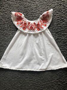 PROMOTION bébé blanc fille garçon Révélateurs à manches courtes 0-3 mois 100/% coton doux