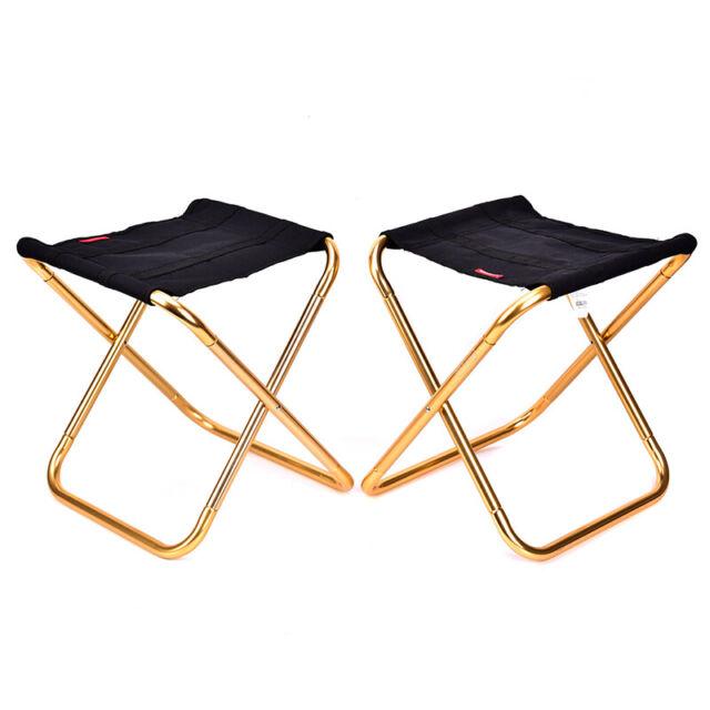 L Size Outdoor Camping Portable Folding Chair Fishing Picnic Beach BBQ Mini-Seat