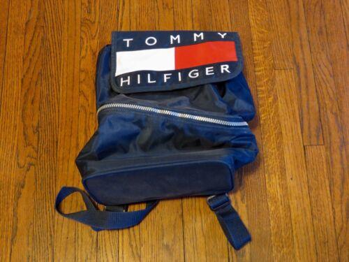 Unisex VTG 90's Tommy Hilfiger Big Logo Backpack L