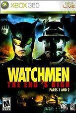 WATCHMEN END IS NIGH PARTS 1 & 2  (Xbox 360,2009)
