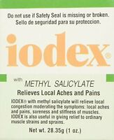 5 Pack - Iodex With Methyl Salicylate, Relives Local Aches And Pain 1oz Each on Sale