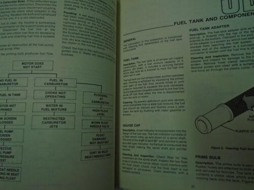 Chrysler Outboard 6 /& 7.5 HP Sailor 150 Service Repair Manual OEM Factory Book