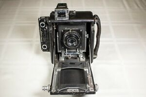 Busch-C-Pressman-camera-with-RARE-Ilex-3-034-portrait-lens-and-shutter