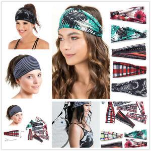 Fashion-Women-Leopard-Striped-Turban-Twist-Knot-Head-Wrap-Headband-Hair-Band-New