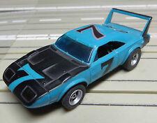 für H0 Slotcar Racing Modellbahn -- Plymouth mit AFX Chassis + neue Schleifer