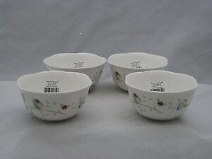 Image Is Loading Lenox Erfly Meadow Dessert Bowl 039 S Set