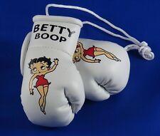 Betty Boop Mini Guantes de Boxeo Vestido Rojo)