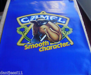 1990-Cartoon-image-of-Joe-Camel-SPECIAL-UNFOLDED-POSTER-CAMEL-CIGARETTES
