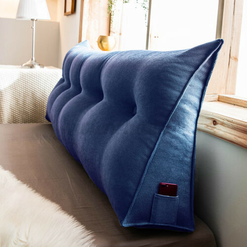 Sex Aid Wedge Backrest Pillow Triangle Love Position Cushion Couple Bedside Head