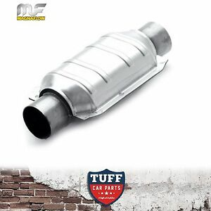Magnaflow-2-25-034-200-CPI-Metal-Core-Stainless-Steel-Cat-Catalytic-Converter-Oval