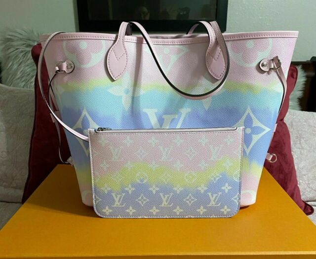 Louis Vuitton Neverfull Mm M45270 Tote Bag Pastel For Sale Online Ebay
