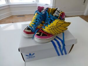 24cb6900120e Adidas Originals x Jeremy Scott x 2NE1 JS COLLAGE WINGS High-tops US ...