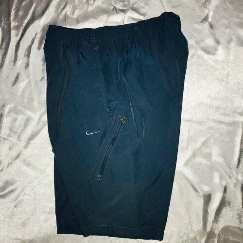 Rare Shorts Blue Teal Super Vintage Nike cortaviento Glanz Nylon Medium CFnqwdI