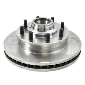Disc Brake Rotor and Hub Assembly Front IAP Dura BR5598