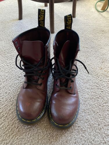 Dr Martens Red 1460 Boots US 8