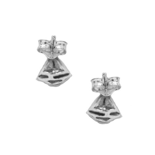 Sterling Silver Sailboat Sail Boat Post Stud Earrings