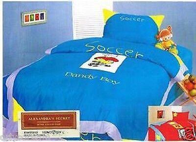 Brillant Einzelbett 3 Stück Bettwäsche Blatt-satz Bettbezug 100% Baumwolle 400tc Hell Und Durchscheinend Im Aussehen Bettwäschegarnituren