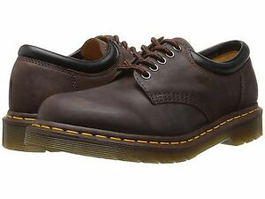Dr. Martens 8053 Gaucho Crazy Horse Men's 5 Eye Leather Oxfords 11849201 US12
