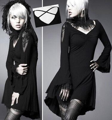 Ball Kleid Prinzessin barock gothic lolita Samt Spitze drapieren Punkrave